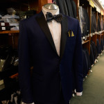 Black tie does not mean boring – check out this tuxedo!