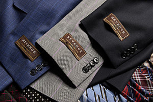 Italian fabrics remain the best in the world, shown here is the Revenge Super 130.