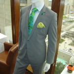 grey-suit-green-tie