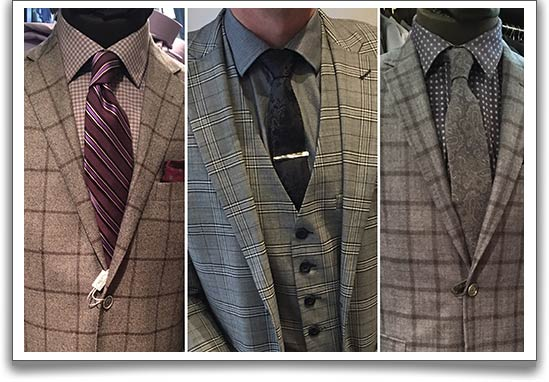 Windowpane-tartan-check-suits